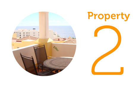 Property 2: Two bed penthouse in Duquesa del Mar