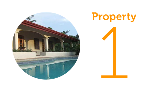 Property 1: Four bed home in Uvita