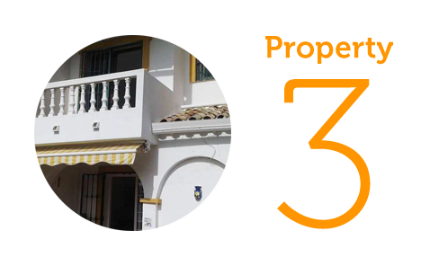 Property 3: Two bed townhouse in El Coto