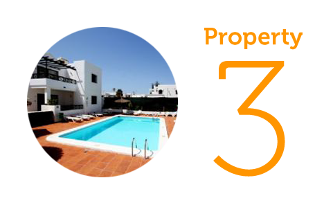 Property 3: Three bed apartment in Puerto del Carmen