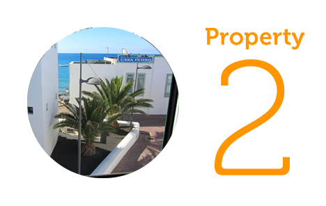 Property 2: Two bed apartment in Playa Blanca