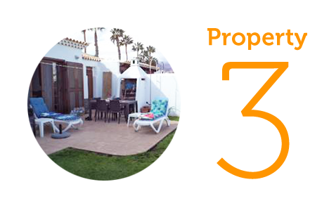 Property 3: Three bed bungalow in Golf del Sur