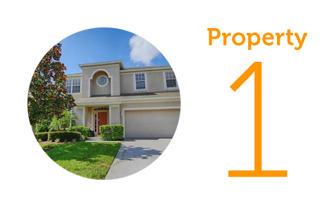 Property 1: Six bed villa in Kissimmee