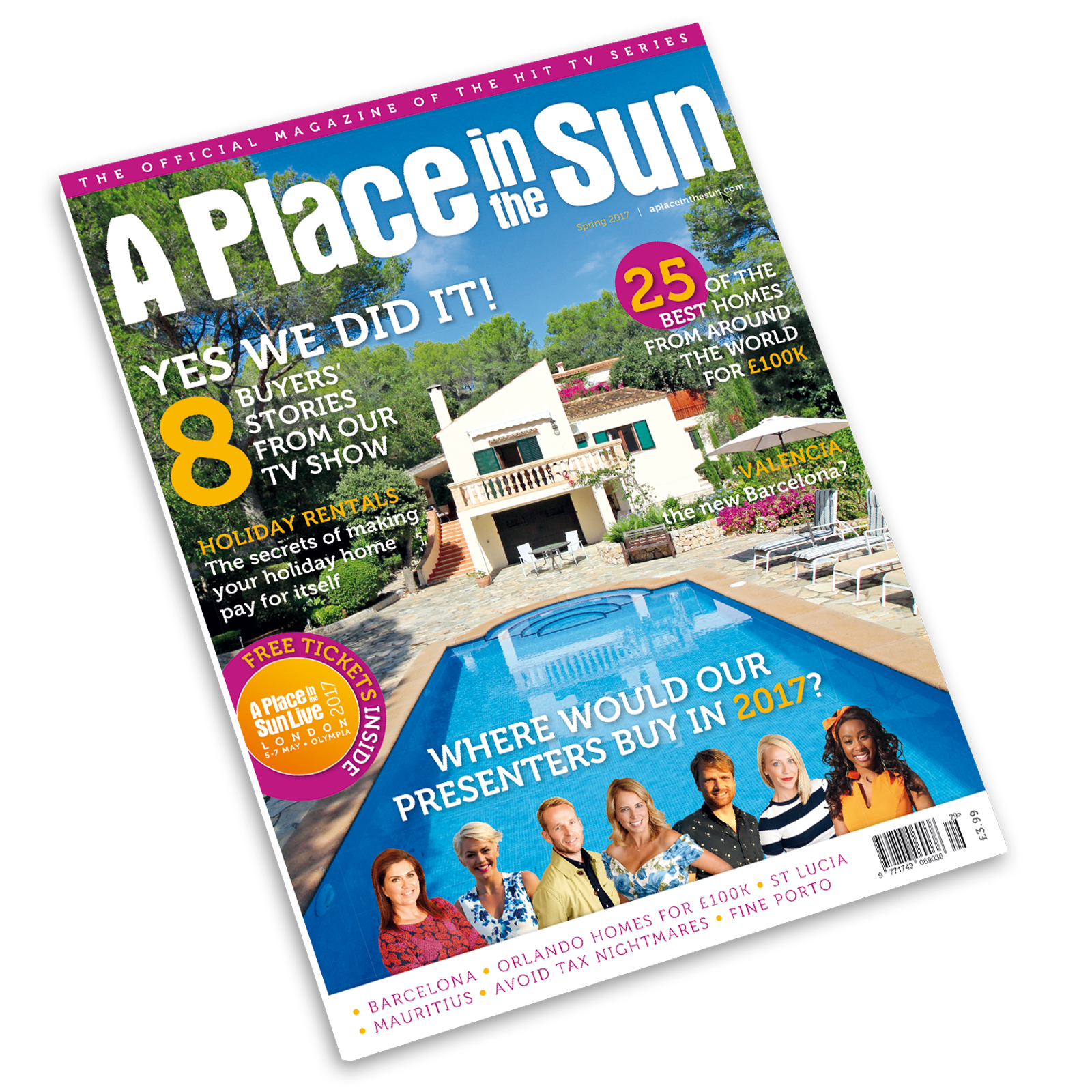 New A Place in the Sun Magazine on Sale Now