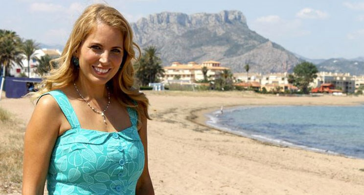 Jasmine Harman on The Costa Blanca
