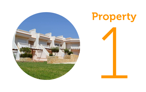 Property 1: One-bedroom apartment in Albufeira