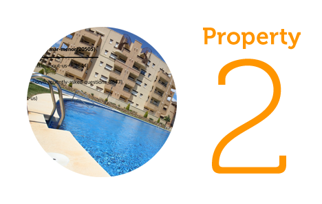 Property 2: One bed apartment in La Tercia