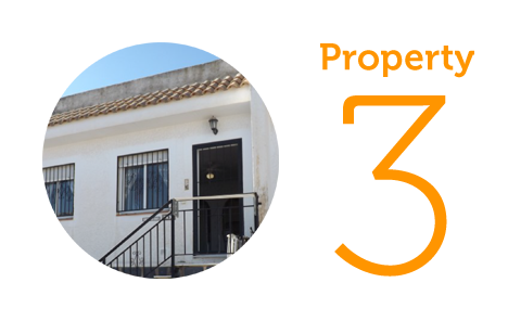 Property 3: One bed villa in Camposol