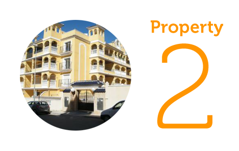 Property 2: Two-bedroom apartment in Algorfa