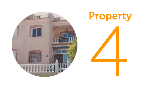 Property 4: Two-bedroom penthouse apartment in Algorfa
