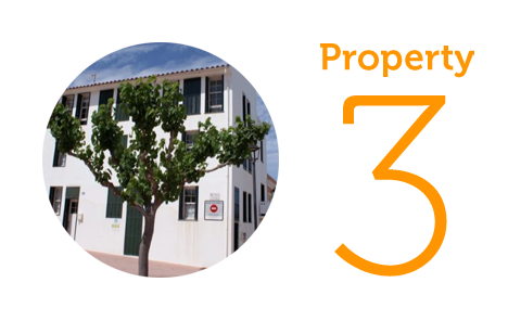 Property 3: Three-bedroom townhouse in Es Castells