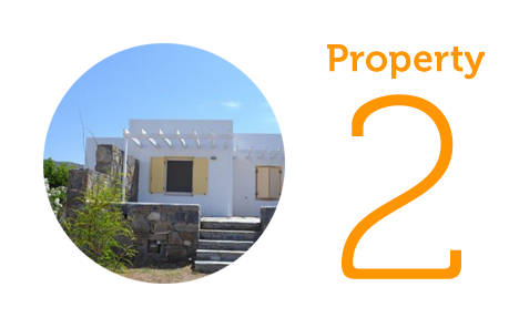 Property 2: Two-bedroom house in Kastraki Naxos