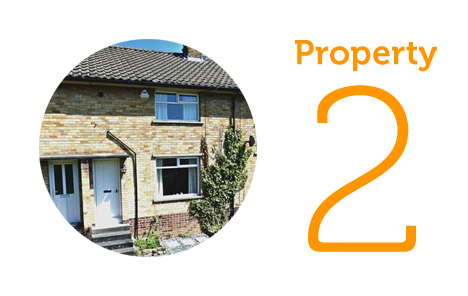 Property 2: Two bedroom mid terrace in Baildon
