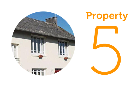 Property 5: Three bedroom house in Coutances