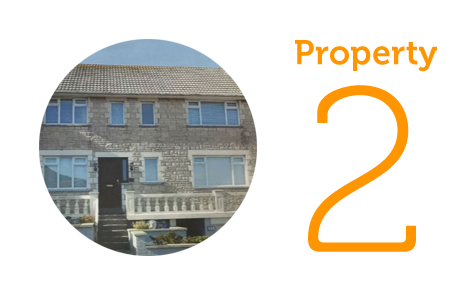 Property 2: Four bedroom house in Portland