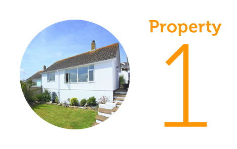 Property 1: Two bed bungalow in Perranporth