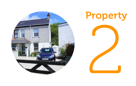 Property 2: Four bed house in Redruth