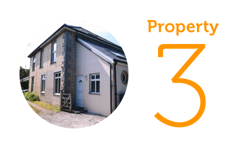 Property 3: Three bedroom house in Perranporth