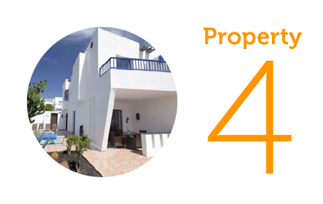 Property 4: Two bed apartment in Playa Blanca