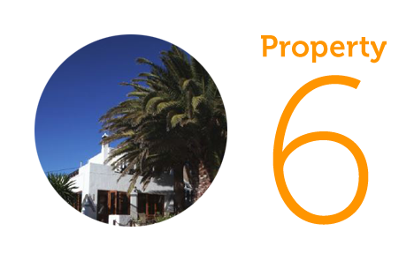 Property 6: Four bed villa in South Lanzarote