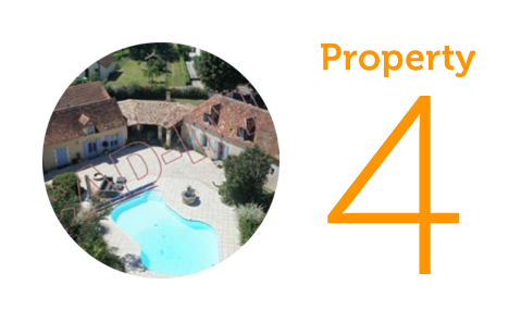 Property 4: Four bedroom villa in Bergerac