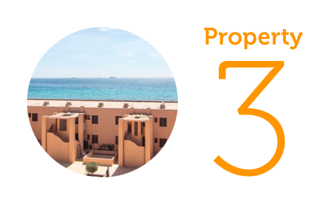 Property 3: Two-bedroom apartment in Playa d'en Bossa