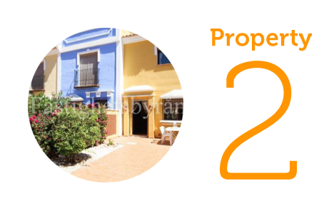 Property 2: Two-bedroom townhouse in Los Alcazares