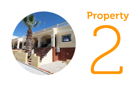 Property 2: Two-bedroom bungalow in Algorfa
