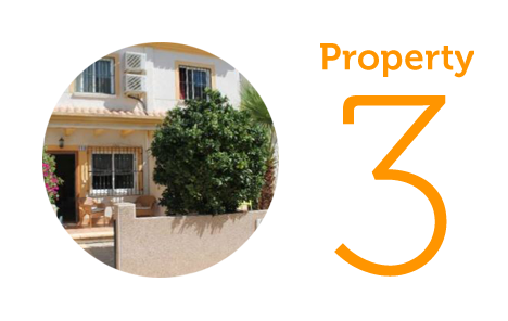 Property 3: Two-bedroom townhouse in Algorfa