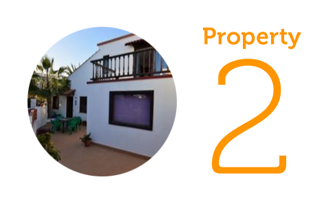 Property 2: Three-bedroom duplex in Parque Holandés
