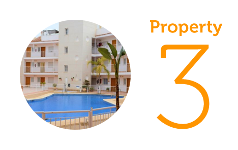 Property 3: Two-bedroom apartment in Aguilas