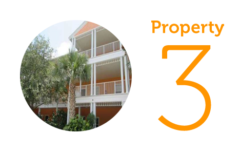 Property 3: Two-bedroom apartment in Davenport