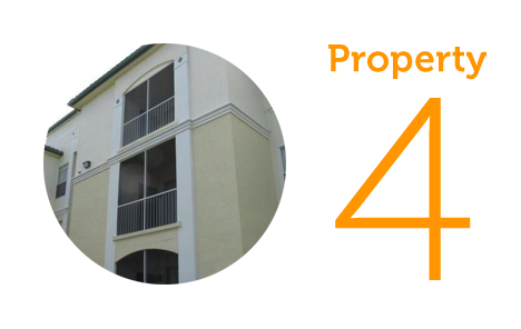 Property 4: Three-bedroom apartment in Kissimmee