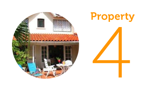Property 4: Three-bedroom house in Castries