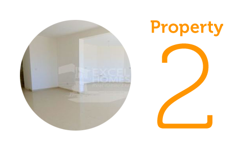 Property 2: Three-bedroom apartment in Mellieha