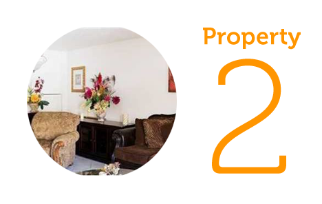 Property 2: Two-bedroom townhouse in Pompano Beach