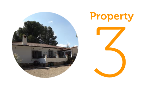 Property 3: Three-bedroom villa in Ontinyent
