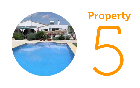 Property 5: Three-bedroom villa in Llutxent