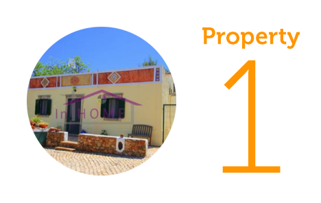 Property 1: Two-bedroom cottage in Faro