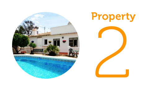 Property 2: Three-bedroom villa in Altea