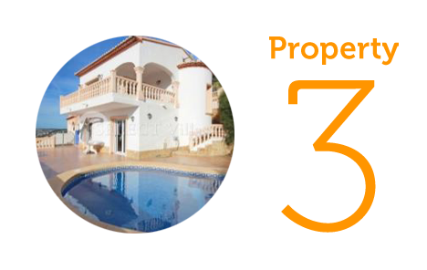 Property 3: Three-bedroom villa in Benitachell