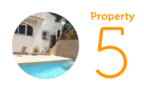Property 5: Four-bedroom villa in Altea
