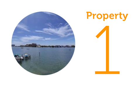 Property 1: Two-bedroom condo in Clearwater