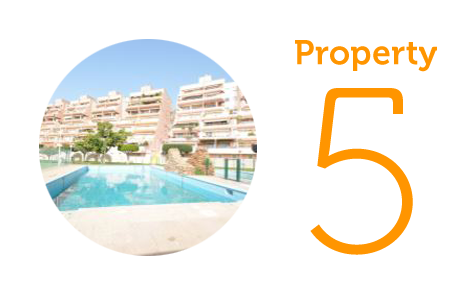 Property 5: Two-bedroom apartment in Aguadulce