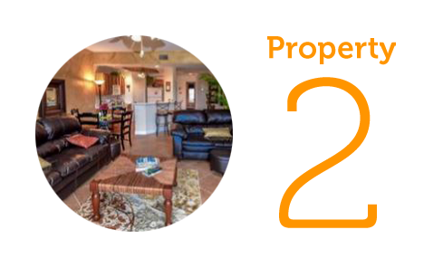 Property 2: Two-bedroom condo in Fort Myers