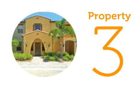Property 3: Two-bedroom townhouse in Fort Myers
