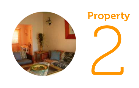 Property 2: Two-bedroom townhouse in Paradise View
