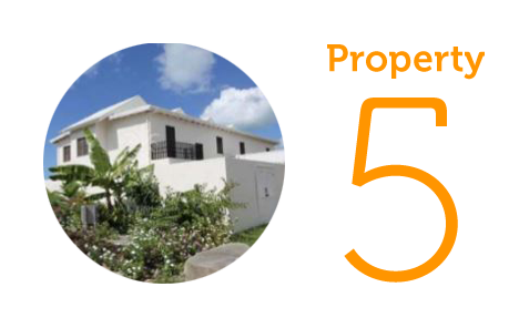 Property 5: Three-bedroom villa on Jolly Harbour