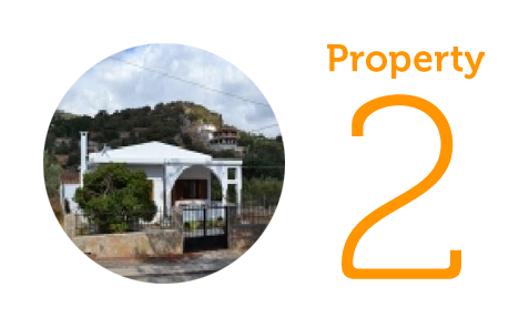 Property 2 - €150,000 Two-bedroom house in Lakonia