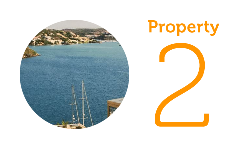 Property 2 - £118,000 Two-bedroom apartment in Es Castell